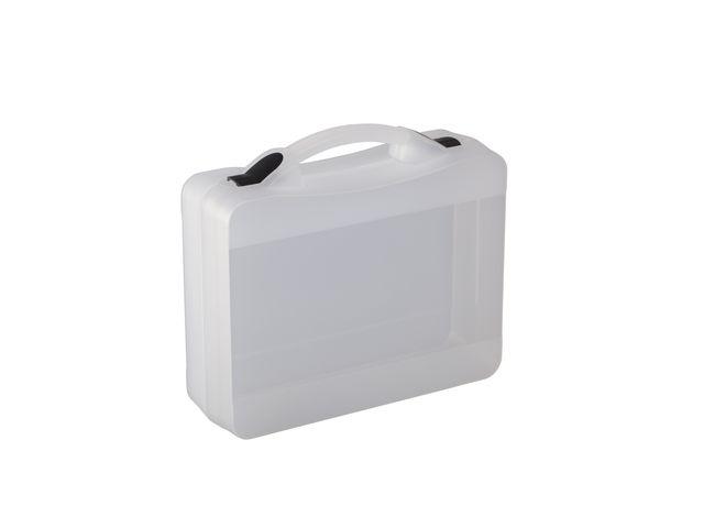 Durchsichtiger Koffer