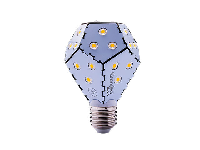 Nanoleaf Bloom LED Lampe - Dimmbar - Weiß - 10 W, 1200 lm, E27, 3000 ...