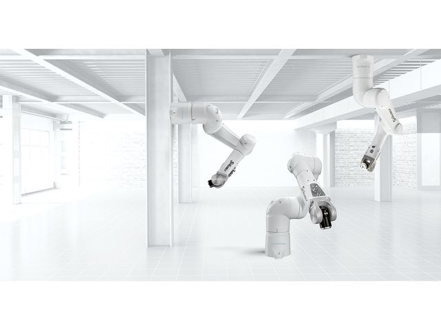 Attachment method of TX2-90 Cleanroom 6-axis robotic arm
