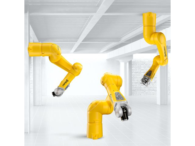 Vertical cable outlet of TX90 Cleanroom 6-axis robotic arm