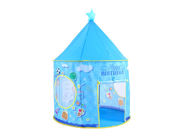Spielzelt für Kinder mit Mustern - Blau | Kontact ITEC-PRO COMEX ...
