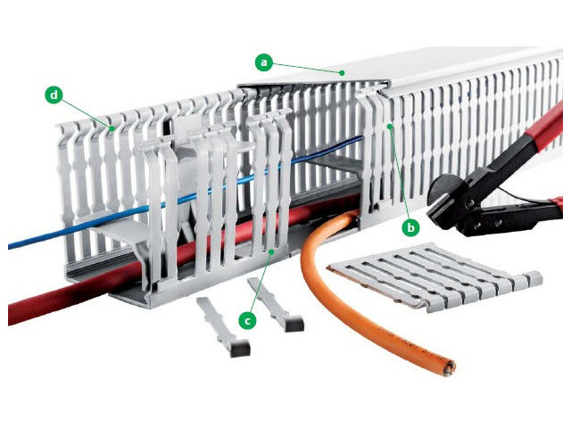 Halogen-free cabling ducts VK-HF