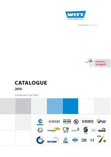 Witt Produktübersicht 2014 - WITT FRANCE SARL