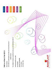 Addiplast an K SHOW 2013 ! - ADDIPLAST COMPOUND ET LABORATOIRE DE RECHERCHE